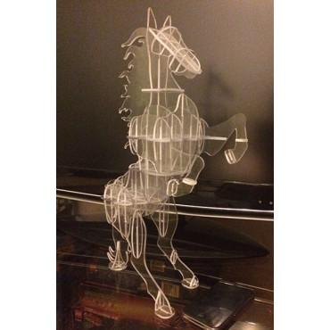 Лошадь акрил