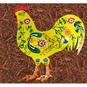 деревянная фигурка ПЕТУХ для росписи и прикольных подарков