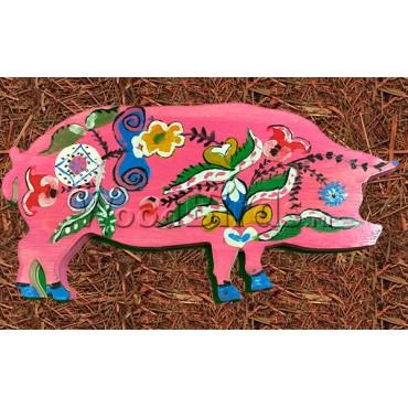 деревянная фигурка ПОРОСЕНОК для росписи и прикольных подарков