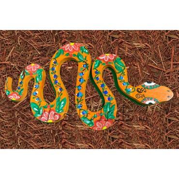 деревянная фигурка ЗМЕЯ для росписи и прикольных подарков