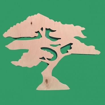 деревянная фигурка ДЕРЕВО БАОБАБ для творчества