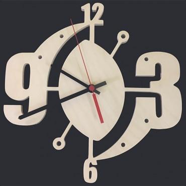 деревянная заготовка для часов - цифры